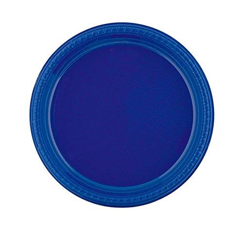 Garcia de pou Assiette De Couleur 23 Cm Bleu Marine Ps - 500 unités