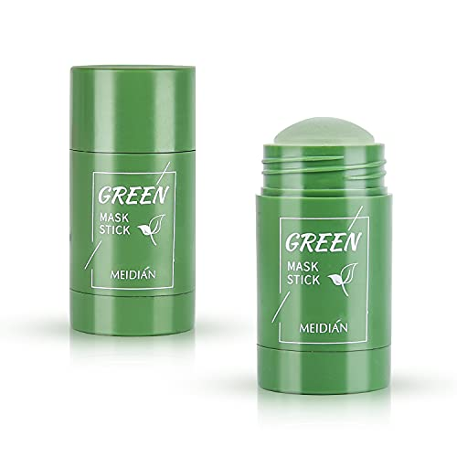 colmanda 2pcs Tè Verde Purificante Maschera...