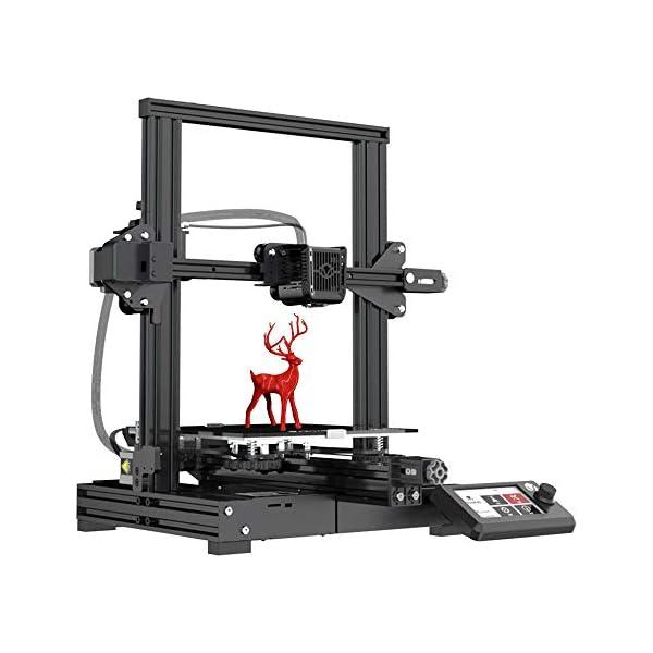 VOXELAB Aquila 3D Printer, DIY FDM All Metal 3D Printers Kit with Removable Carborundum...