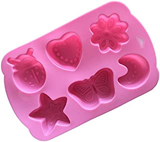 utensilios de cocina para hornear luna estrellas fantasma galletas pasteles de chocolate PT-KMKMING Molde de silicona con dise/ño de calabaza de Halloween galletas