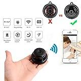 Dybory Wifi 1080P Kamera, Wandmontage Kamera, Indoor Security Kamera, Advanced Home Surveillance Camera with Human Detection, Annorm Sound Detection, Security Sirene, Baby / Senioren / Haustier