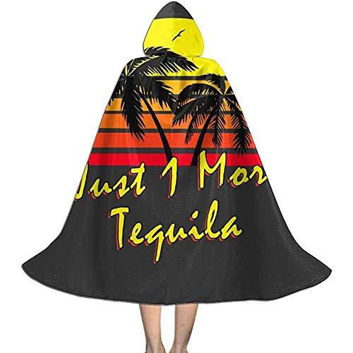 Niet van toepassing volwassen gewaad mantel, capuchon cape, unisex cosplay rol kostuums, slechts 1 meer tequila vintage zon vampier mantel, halloween partij decoratie bovenkleding, wizard mantel