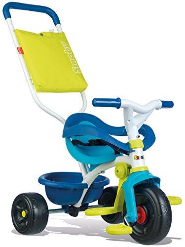 Smoby - Tricycle Be Fun Confort Bleu - Vélo Enfant Dès 10...