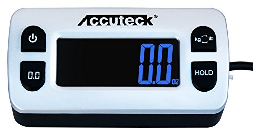 Accuteck ShipPro 110lbs x 0.1 oz. Digital Shipping Postal Scale, Black (W-8580-110-Black)