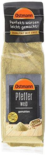Ostmann Pfeffer weiß gemahlen, 60 g