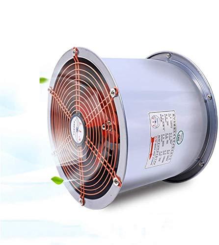 400 mm en línea Extractor, 180W tranquila axial del conducto de ventilación del ventilador de flujo mixto for áticos, respiraderos, crecer tiendas de campaña, sótanos (Volumen de aire: 2800m³ / h)