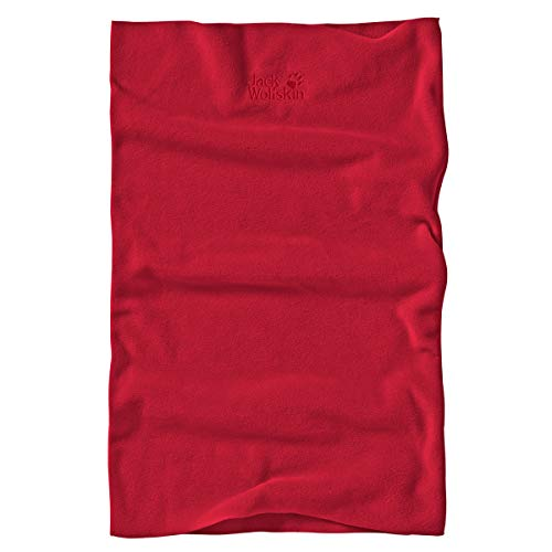 Jack Wolfskin Real Stuff Loop Mütze Unisex, red Lacquer, ONE Size