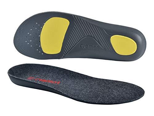 riemot Wkładki do butów zimowych dla dzieci, mężczyzn, kobiet, wkładki do butów, ortopedyczne, Thermo Merino Wełna wkładki do butów trekkingowych, buty do biegania, buty sportowe, ciepłe tłumienie 28-30