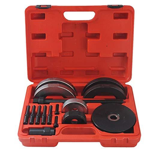 Fscm 16-teilig Radlagerwerkzeug Radlager Demontage Radlager Wechsel Radnabe KFZ Werkzeug Abzieher (Lagergröße: 72 mm)