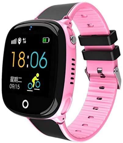 TOPCHANCES - Reloj inteligente para niños, IP67, resistente al agua, anticaída 2G, GPS/LBS Tracker SOS Cámara juegos compatible con Android iOS Gran regalo para niños y niñas