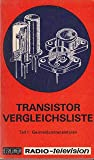 Transistor-Vergleichsliste Teil1