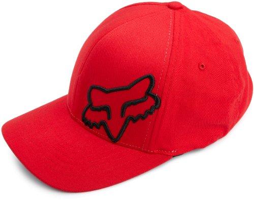 Fox Herren Flexfit Cap 45 Flex, Red, L/XL, 58379-003