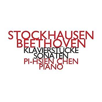 Stockhausen: Klavierstücke & Beethoven: Sonaten