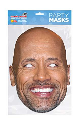 Dwayne Johnson Celebrity official Face Mask
