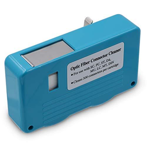 Glasfaser-Reinigungsbox für Glasfaser-Stecker (LC,ST,SC, FC, SMA D-4 und DIN)