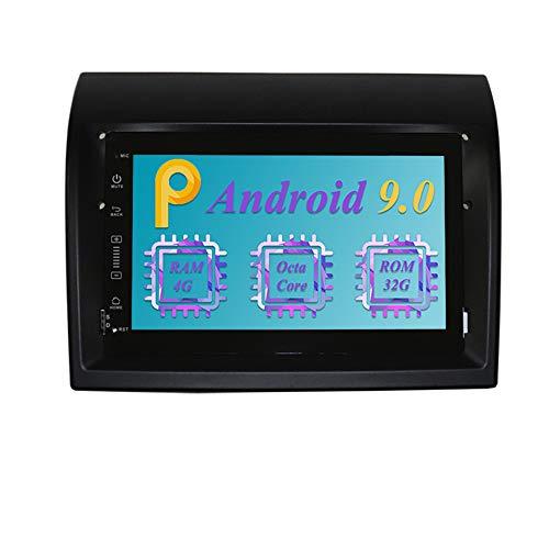 Dimost 7 Pulgadas Android 9.0 Autoradio 8-Core 4GB RAM 32GB ROM Car Radio Navegacion GPS In Dash Radio de Coche para Fiat Ducato/Peugeot Boxer/Citroen Jumper (Autoradio)