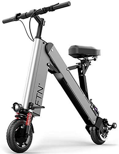 Bicicleta eléctrica Bicicleta eléctrica por la mon Bicicleta eléctrica, bicicletas plegables eléctricos con 350W 36V de 8 pulgadas, modo de crucero, de iones de litio E-Bici de ciclo al aire libre y l