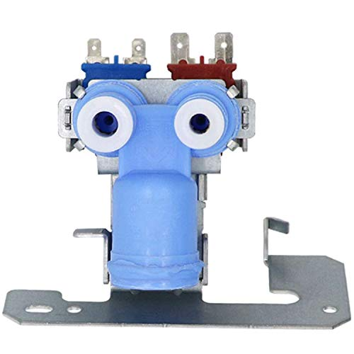 Replacement WR57X10032 Dual Solenoid Water Valve with Guard Exact Fit for GE, Hotpoint Refrigerators AH304374, AP3192626