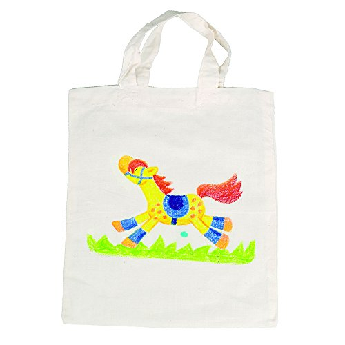 Goki - 2041848 - Loisirs Créatifs - Sac en Coton Non Peinte