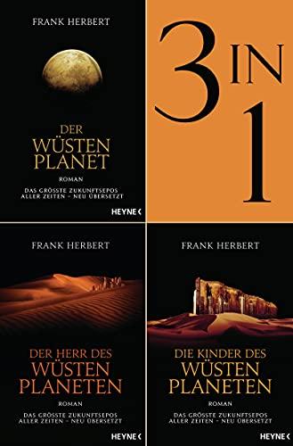 Der Wüstenplanet Band 1-3: Der Wüstenplanet / Der Herr des Wüstenplaneten / Die Kinder des Wüstenplaneten (3in1-Bundle): Drei Romane in einem Band