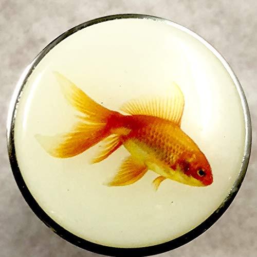 Bouchon de lavabo avec inscription no 10/motif poisson rouge
