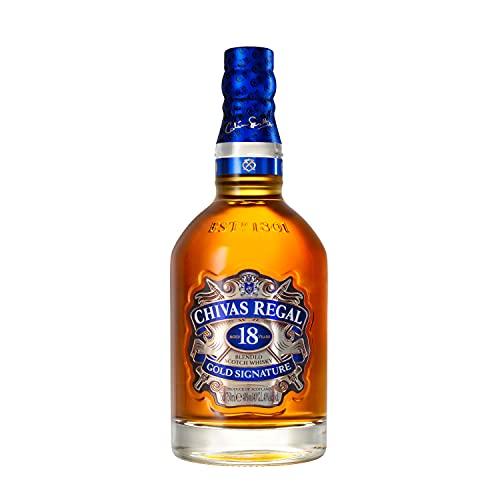 Chivas Regal 18 Años Whisky Escocés de Mezcla Premium, 700ml