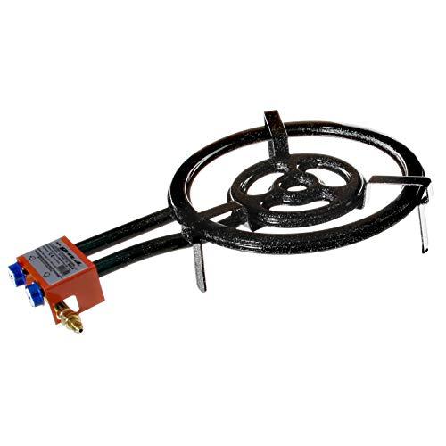 Garcima Outdoor-Paella-Gasbrenner, 400mm + Gas