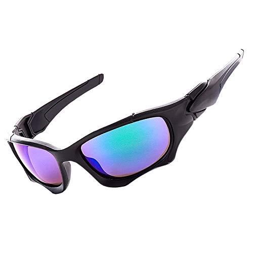 WJBABJ Ciclismo Gafas UV400 Gafas Ciclismo Deporte al Aire Libre de Bicicletas de montaña vidrios de la Bicicleta (Color : Q16 2)