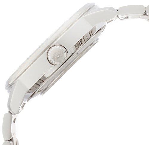 [オリエント時計]腕時計スタンダードスタイリッシュアンドスマートディスクWHITERAINBOW自動巻きWV0821ERシルバー