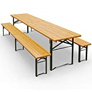 Wooden Trestle Folding Outdoor Furniture