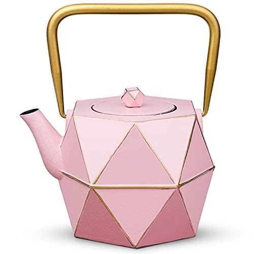 Cast Iron Teapot, TOPTIER Japanese Cast Iron Tea Kettle