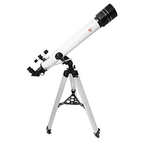 TS-Optics Refraktor Teleskop AC 70/700 AZ-2 Fernrohr - Komplettausstattung, Starscope707