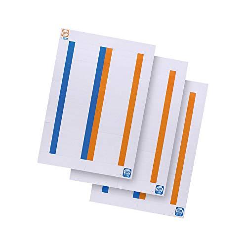 Elba 400022782 - Pack de 10 hojas de 38 etiquetas para carpetas colgantes para cajón