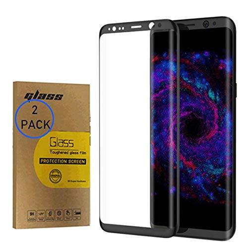 Protector de pantalla de cristal templado de cobertura completa para Samsung Galaxy S7 G930F de 5.1 pulgadas, ultradelgado, antihuellas y claridad HD