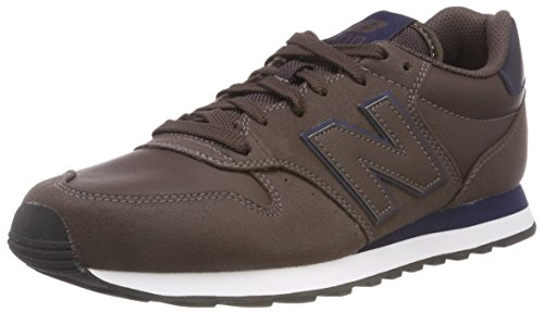 New Balance 500, Scarpe Sportive Uomo, Marrone (Dark Brown/Navy Dbn), 43 EU