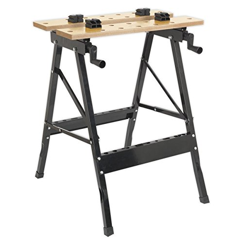 Sealey FWB1 Folding Workbench 235mm Capacity