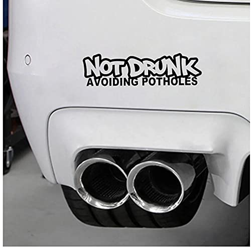 WYZDGTD Sticker de Carro by emborraches Evita los baches Vinilo Divertido para...