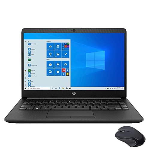 """HP 14"""" HD portátil for Business and Student, AMD Athlon prata 3050U (batida i5-7200U), 8 GB de RAM, 256GB PCIe SSD, HDMI, Wi-Fi, Bluetooth, Ethernet, Mytrix Wireless Mouse, Win 10"""