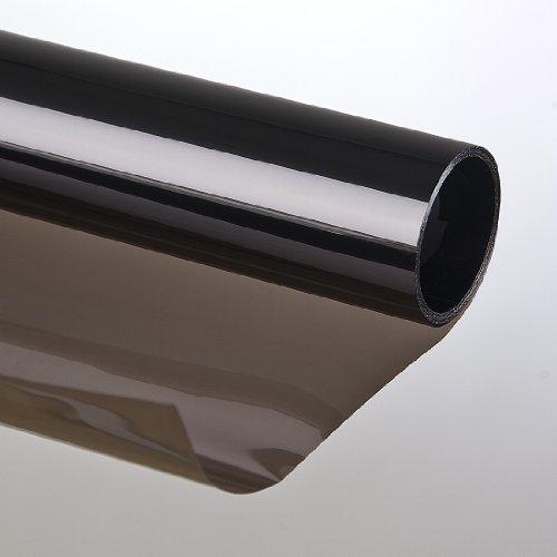Led-Gigant Sonnenschutzfolie 75 x 300cm Kratzfest braun Selbstklebend Fensterfolie Tönungsfolie