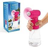 Handheld Water Mist Spray Fan Portable Mist Fan Small Standing Office Desk Fan Cooler with Tank For Kids Car...