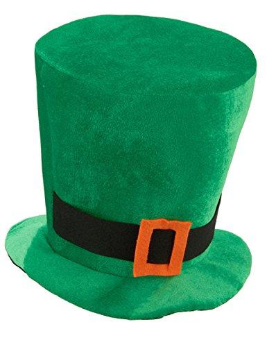 Elite Chapeau Velours Vert Saint Patrick
