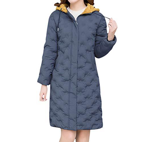 SHANGYI Dames Winterjack Vrouw Lange Jas Winterjas Vrouwelijke Dikke Warm Hooded Jas