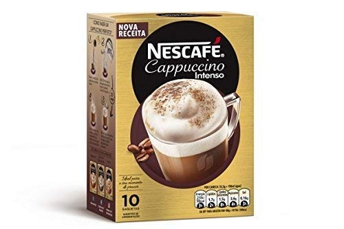 Nescafe Cappuccino Intenso Packets - 14g - 10 ct
