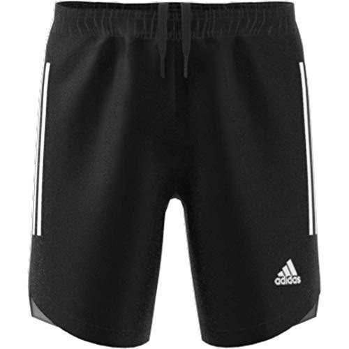 adidas Pantalones Cortos Unisex Condivo 20 para jóvenes, Unisex niños, Pantalones Cortos, GLF02, Negro/Blanco, XXS