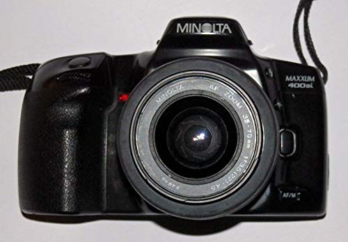 Minolta Maxxum 400si – Incluye LLL Minolta AF Zoom AF - Objetivo (35-70 mm, 1:3.5(22)-4.5, diámetro 49, cámara réflex analógica, tecnología Probada)
