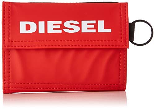 Diesel YOSHI, Cartera para Hombre, Rojo (Fiery Red), 5.4x11x13.5 centimeters (W x H x L)