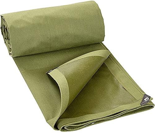 Lonas CHGDFQ, cubierta de lona multiusos, lona engrosada para camiones, parasol resistente a la lluvia La cubierta de lona aislante del calor es suave y fácil de plegar (0,8 mm de grosor) (tamaño: 3 x