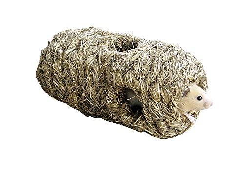 Kerbl Grasröhre mit 6 Löchern (Zubehör für Käfig Hamster) 83968
