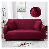 NEWRX Cubiertas de sofá elásticos Impresos a Cuadros para la Sala de Estar Sofá Sofá Protector Protector contra Las Fundas contra el Polvo para Sofá de Esquina Silla