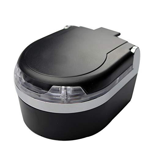 SSZZ LED Afneembare Mini Auto Asbak met Cover, Auto Interieur, Auto Cup Houder Geschikt voor Auto Kantoor Thuis
